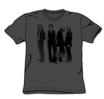 Beatles Tshirt - Attitude - Charcoal Grey