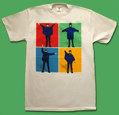 Beatles - Help - Vintage Tshirt