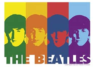 The Beatles - Colorblocks - Warhol Style Tshirt