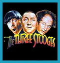 3 Stooges Tshirts with Curley, Larry and Moe