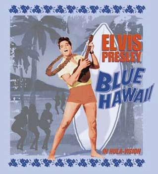 Resultado de imagem para elvis blue hawaii poster