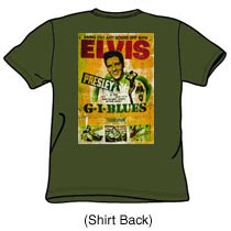 Elvis Presley Tshirt: GI Blues - Back Print