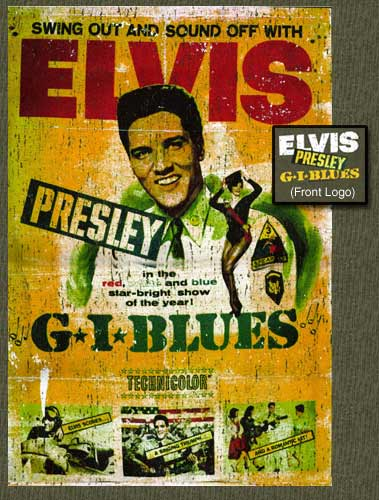 Elvis Presley - GI Blues - Back Print Tshirt