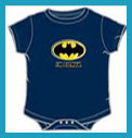 Buy Baby snapsuits and onesies featuring Betty Boop and Batman
