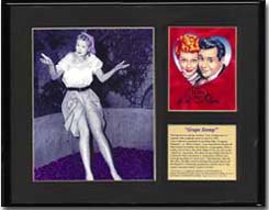 I Love Lucy Art - Grape Stomp Limited Edition Print
