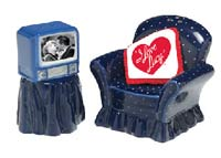 I Love Lucy - Salt and Pepper Shakers by Vandor