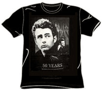 James Dean Collectible Tshirt - 50th Anniversary
