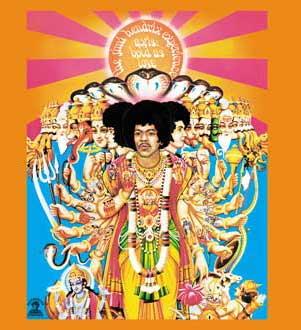 Jimi Hendrix Tshirt - Bold As Love - Orange