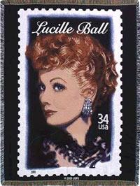 Lucille Ball Throw Cover - Cotton