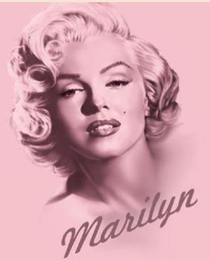 Marilyn Monroe Tshirt - New Elegance - Pink