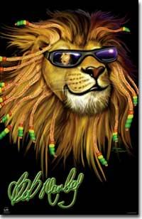 rastafarian lion bob marley Cool Rasta Lion Pictures