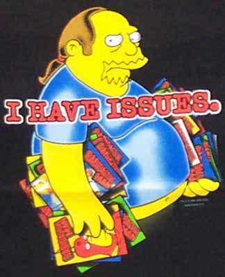 Simpsons Tshirt - Comic Book Guy - Small