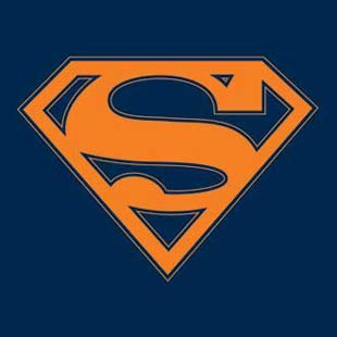 Superman Navy Orange Tee B